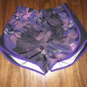 Nike dri fit running shorts with liner